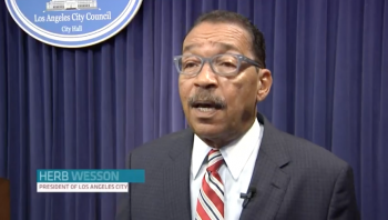 A day in the life of City Council president Herb Wesson